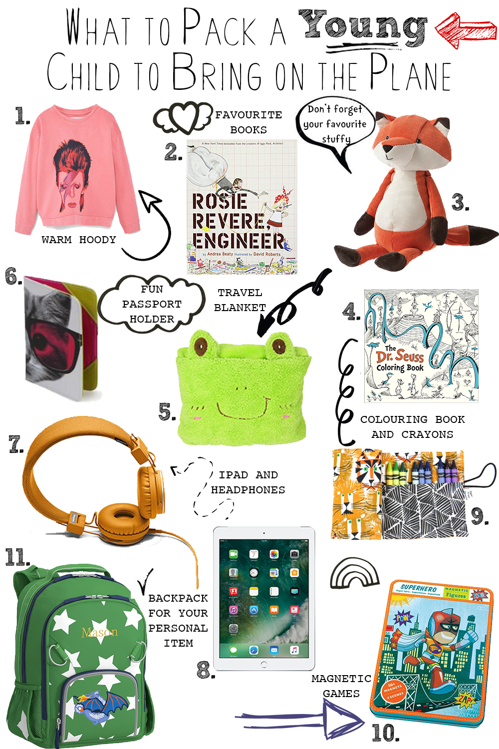 What To Bring For Kids On The Plane Livelovesara