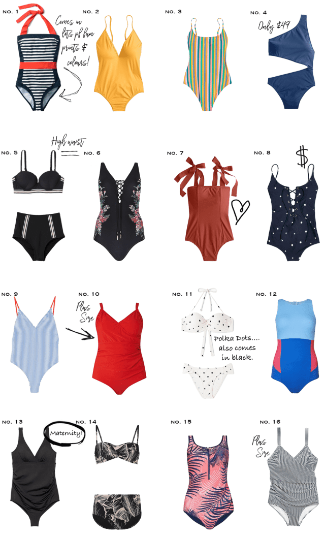 Spring Summer 2018 swimsuit round up