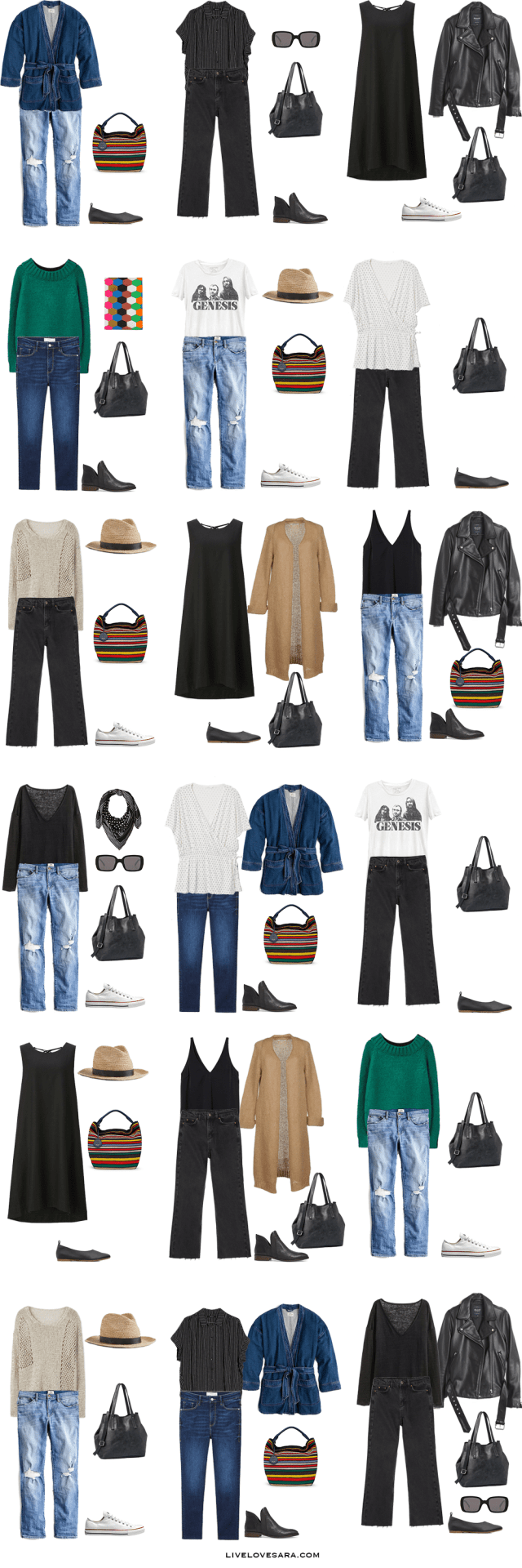 What to Pack for Northern France Packing Light List Outfit Options | What to pack for France | What to Pack for Europe | Packing Light | Packing List | Travel Light | Travel Wardrobe | Travel Capsule | Capsule |