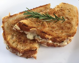 Parmesan Grilled Cheese with Rosemary