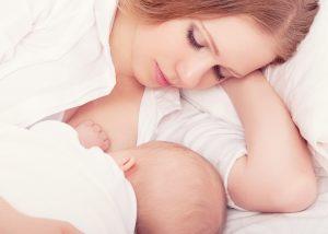 Sleep train and breastfeed