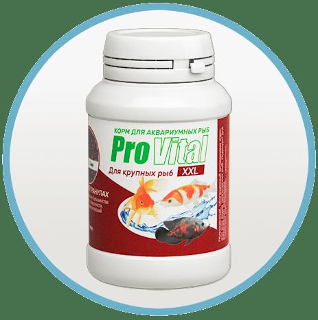 Корм для крупных видов рыб ProVital XXL