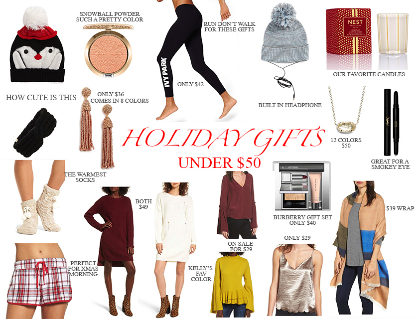Holiday Gift Guide- Everything under $50