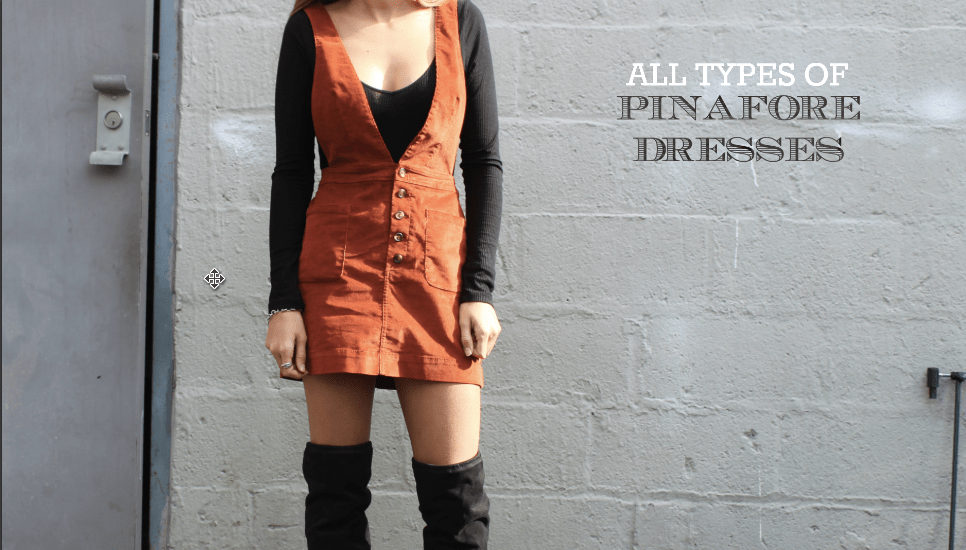 Different pinafore dresses for every type