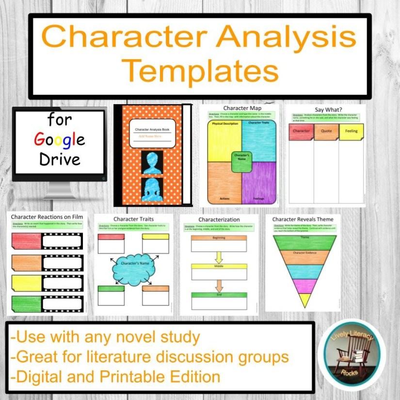 character-analysis-templates