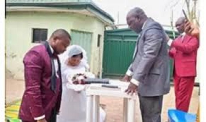 Another Covid-19 Lock Down Wedding:Couple Wed In Kano