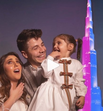 Dubai couple spent around USD 95,000 to hosts baby gender reveal on Burj Khalifa