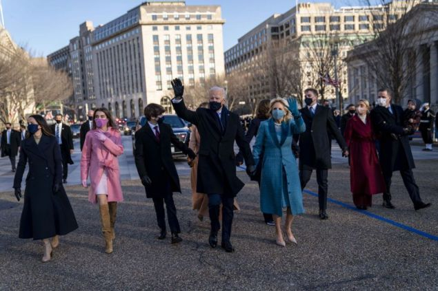 Biden's Grandkids and Daughter Ashley Stun In Glamorous Looks on Inauguration Night
