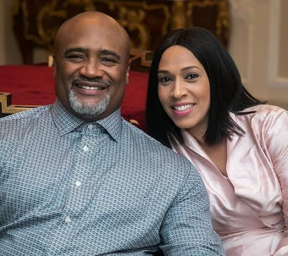 """Born to be my king"" Ifeanyi Adefarasin celebrates husband, Paul Adefarasin, on his birthday"