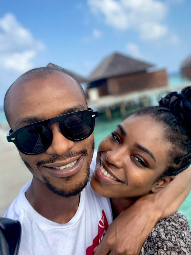 Bashir El-Rufai and his wife go on baecation (photos)