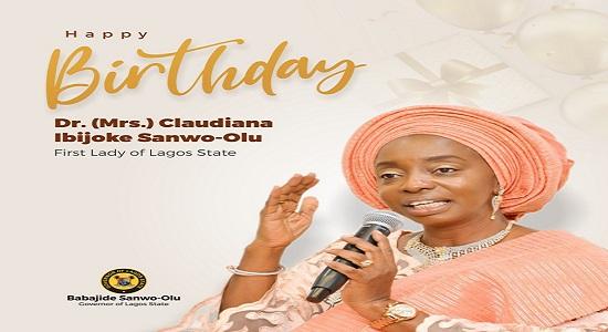 Sanwo-Olu Celebrates His Wife, Ibijoke's 53rd Birthday