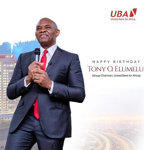 UBA Celebrates Tony Elumelu On 58th Birthday (photos)