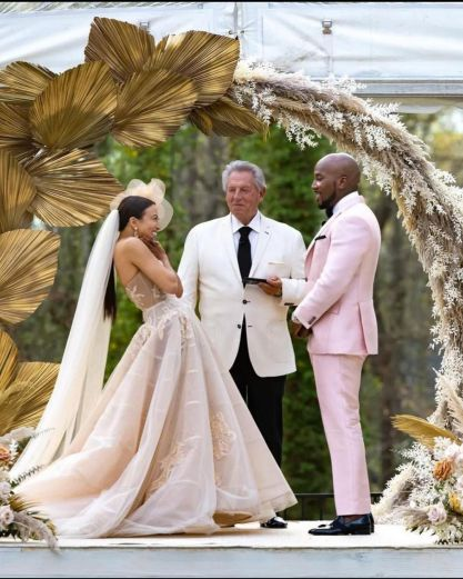 Jeannie Mai, 42, And Jeezy, 43, Got Married In An Intimate Ceremony In Atlanta On March 27, One Year After Their Engagement.