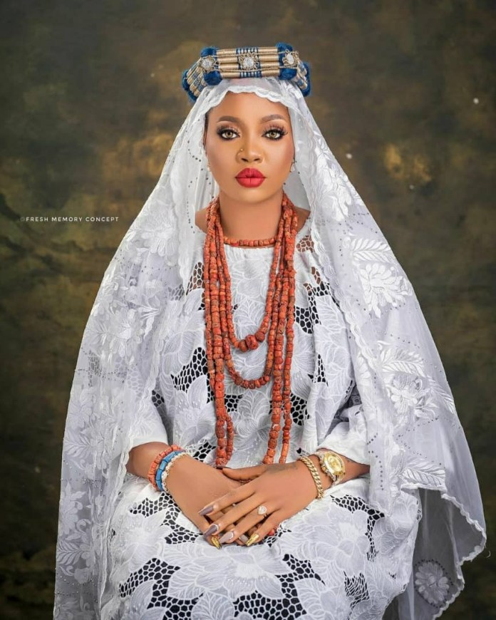 Alaafin of Oyo's Younger wife celebrate her birthday with stunning new photos