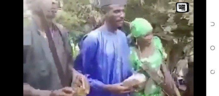Armed Bandits Getting Married And Celebrating In Northern Nigeria (See Video)