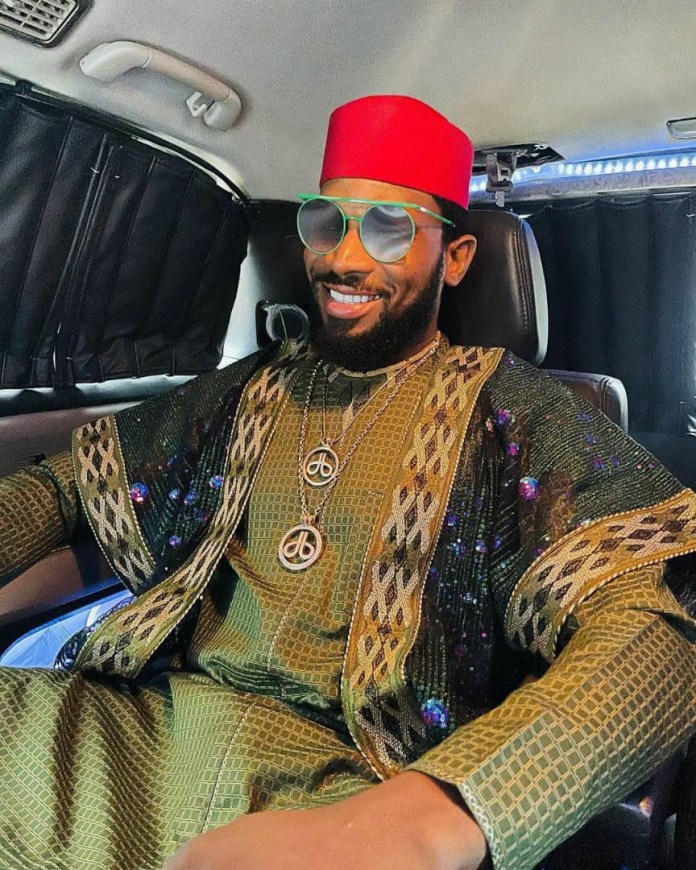 First photos from rapper, Ikechukwu's traditional wedding