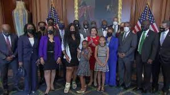 George Floyd's Family Says Biden and Harris Showed 'Genuine' Care During White House Meeting