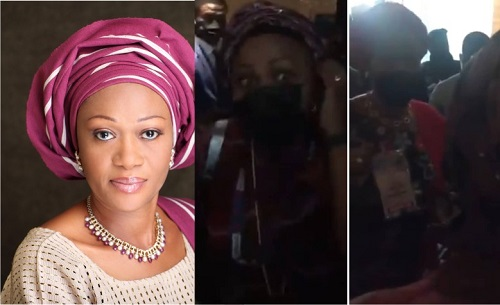 I Am Not A Thug — Arinola Oloko Who Remi Tinubu Called A Thug Speaks (Photos & Video)