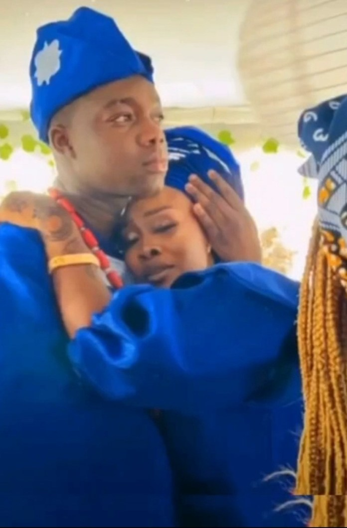 Instagram comedian, Cute Abiola, ties the knot with his girlfriend (photos/video)