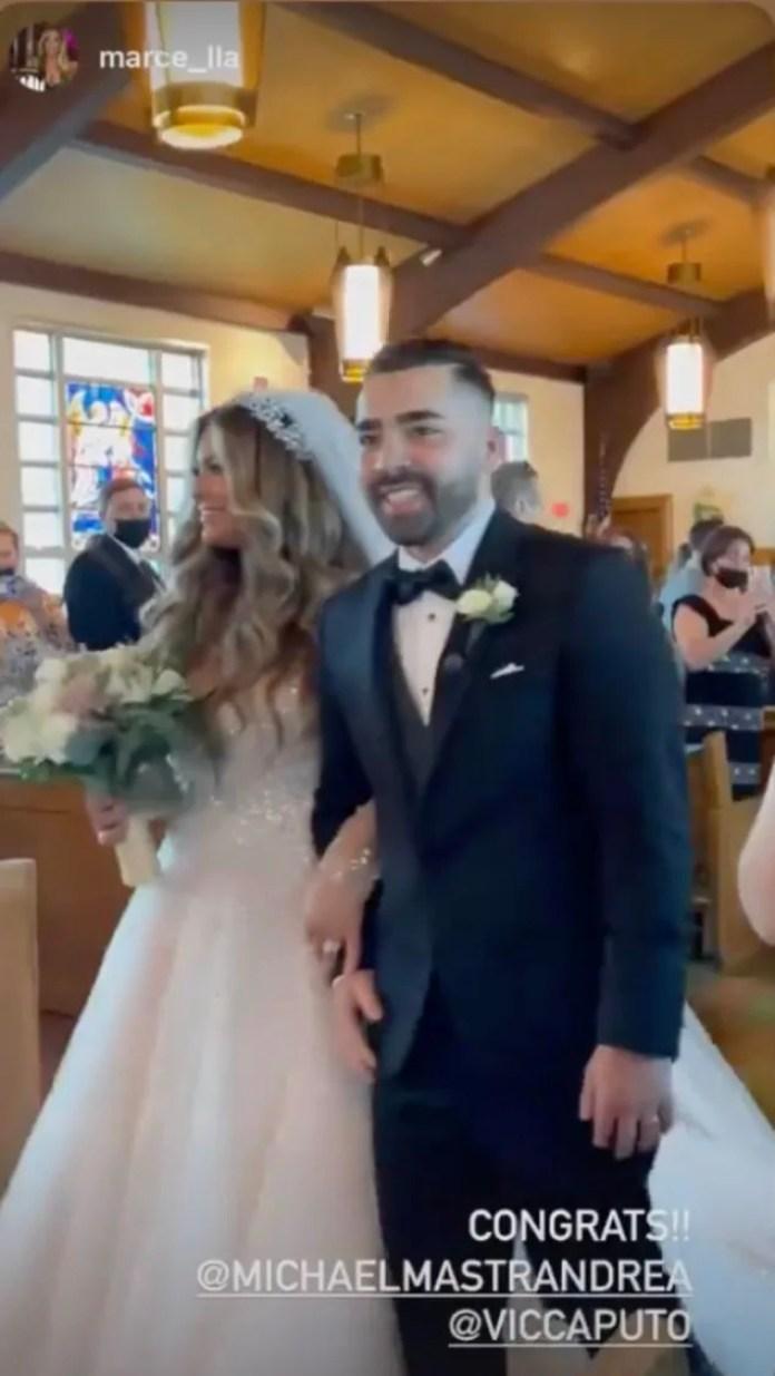 Long Island Medium Star Theresa Caputo's Daughter Victoria Is Married