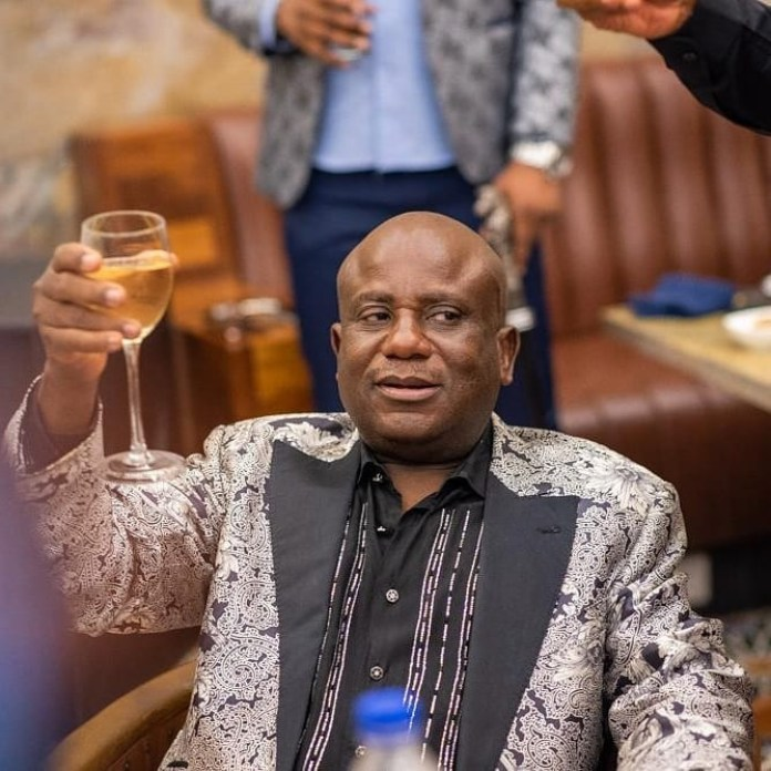 More photos from the 60th birthday party of reality TV star, Kiddwaya's dad, Terry Waya