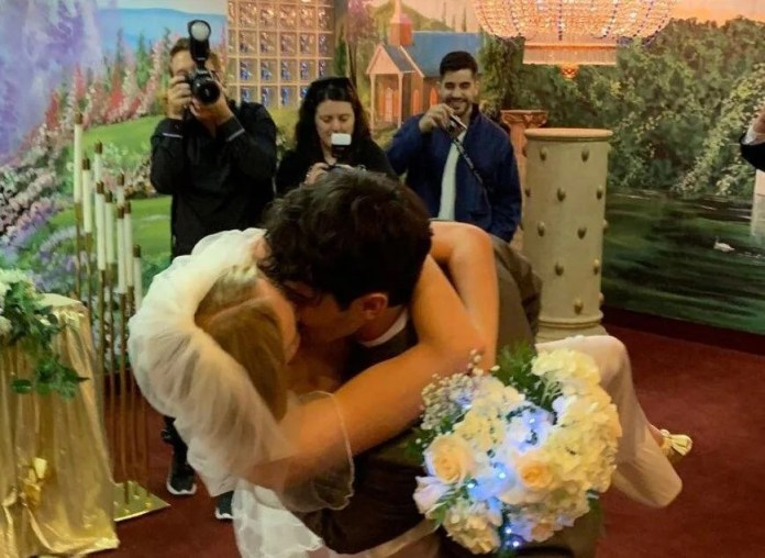 Sophie Turner Shares Never-Before-Seen Wedding Photos to Celebrate 2nd Anniversary of Vegas Nuptials