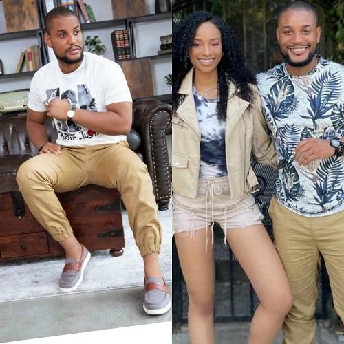 Between actor Alex Ekubo and his fiancee, Fancy Acholonu, on IG