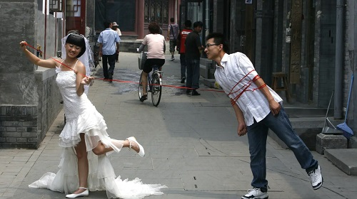 China is setting up special economical wedding zones