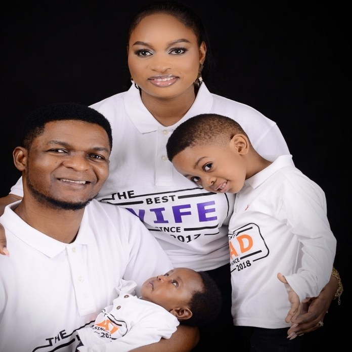 Gospel Artist Joepraize Celebrates Four Years Wedding Anniversary- 4 In 4 (Pics)