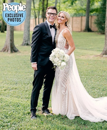 Bobby Bones Marries Caitlin Parker in Intimate At-Home Ceremony: See the Wedding Photos