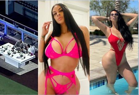 See hot photos of basketball player Amari Bailey's mom, Johanna Leia who Drake rented a whole stadium to have a date with