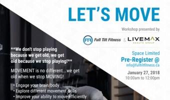 Let's Move Workshop