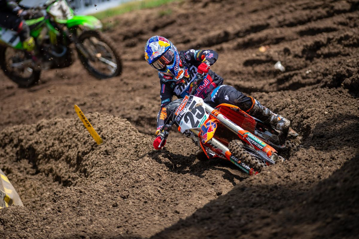 Marvin Musquin on runner up finish at Ironman – Live Motocross