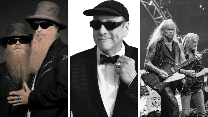 zz top announces 50th