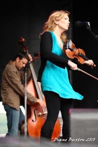 Alison Krauss @ Mountain Jam 2010