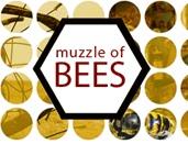 muzzle of bees logo