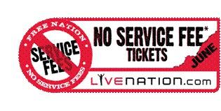 no service fees june
