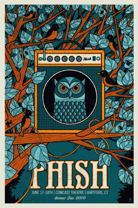 Phish Comcast Theatre Hartford CT 61710 LIVE Music