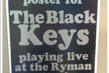 black keys ryman