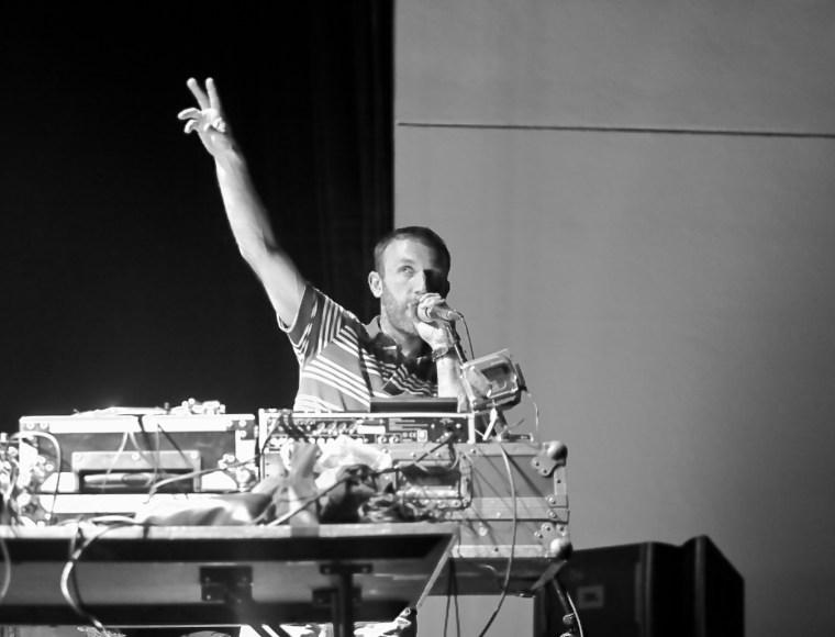 RJD2 @ Bank of America Pavilion, Boston 9/11/10