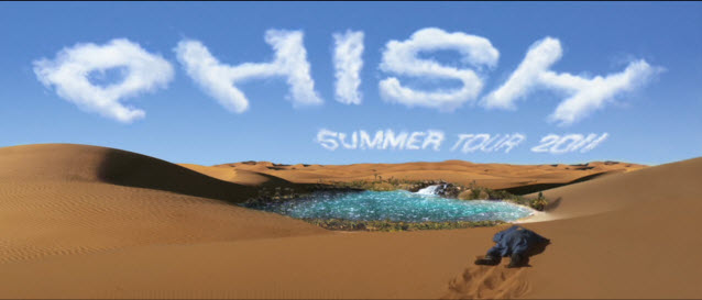 tour dates phish announces 2011 summer run live music blog. Black Bedroom Furniture Sets. Home Design Ideas