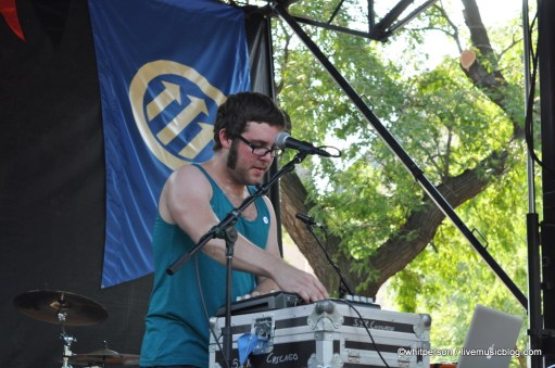 Baths @ Pitchfork Music Festival 2011