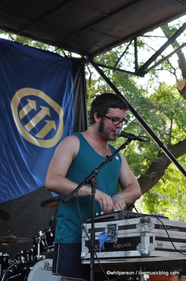 Baths @ Pitchfork Music Festival 2011