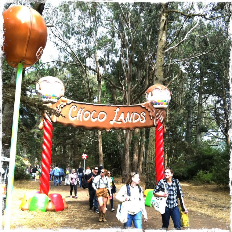 Choco Lands @ Outside Lands 2011