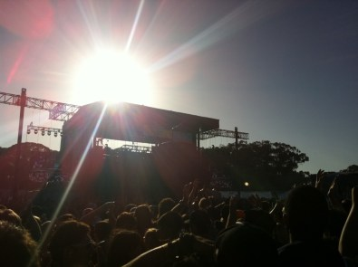 Main stage sunny day @ Outside Lands 2011