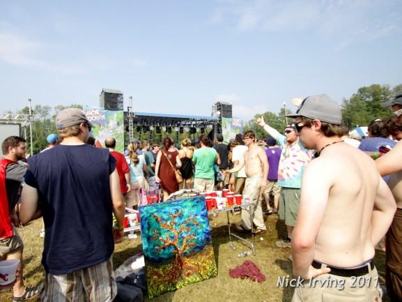 beer pong? @ moe.down 2011