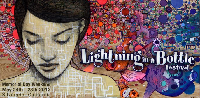 lightning in a bottle 2012 art