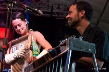 Bonnie & Lebo at the Levon Helm Playshop, HSMF 2012