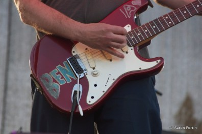 Doug Martsch's guitar of Built to Spill, Main Stage, HSMF 2012