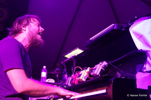 Marco Benevento at the Vaudeville Tent, HSMF 2012